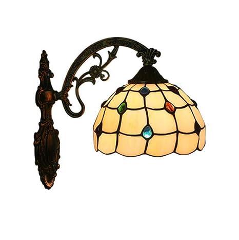 Lámpara de Pared Estilo Tiffany, luz de Pared con diseño de ...