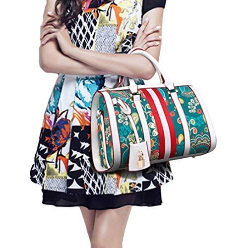 nbsp;borse Bianca Borsetta Moda Da Borsa Donna A Diagonale Stampa nbsp; Huicai Tracolla Pacchetto CRn1qCtx