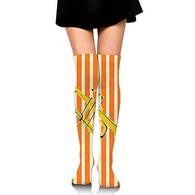 C-JOY Jazz Music Player Women's Over Knee High Stockings 60 Cm Long Tube Socks Sport Socks For Women Girls