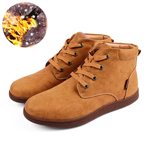 Boots Boot Classic Yellow Hiking Boots Men's Snow Waterproof Chukka Ankle Love Sherry Type Ifx6UU
