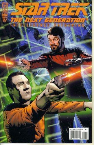 Star Trek The Next Generation - Intelligence Gathering #1 (IDW ()