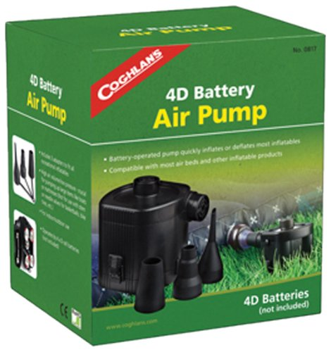 Battery Powered Air Pump for this checklist and camping gear list for first time campers