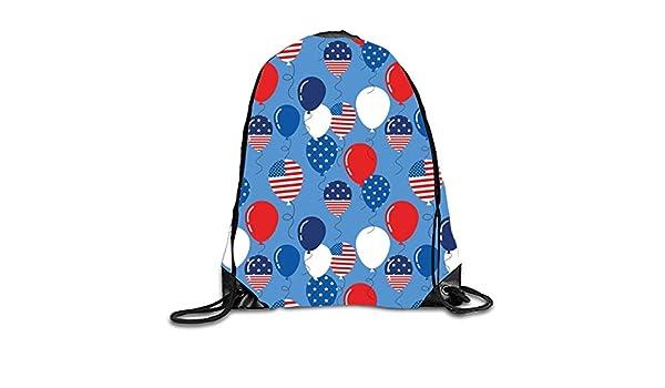 gthytjhv Drawstring Backpack Rucksack Shoulder Bags Gym Bag Travel Backpack Patriotic Balloons Patriotic balloons1 Lightweight Unique 16.9x14.2: Amazon.es: ...