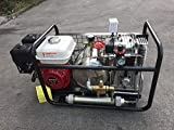 D Machinery 3.75kw 5HP Hookah Dive System 250L/Min Gas-Powered Air Compressor with 50 Feet Hose & Regulator
