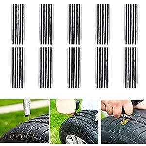 CICMOD 50 pcs Kits de Reparación de Neumáticos de Reparación de ...