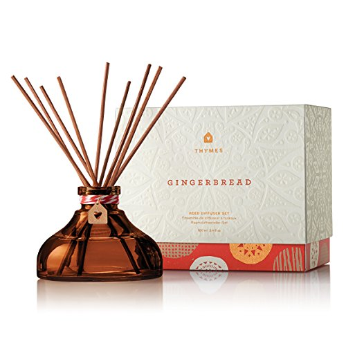 Thymes - Gingerbread Petite Reed Diffuser - 4.1 Ounces