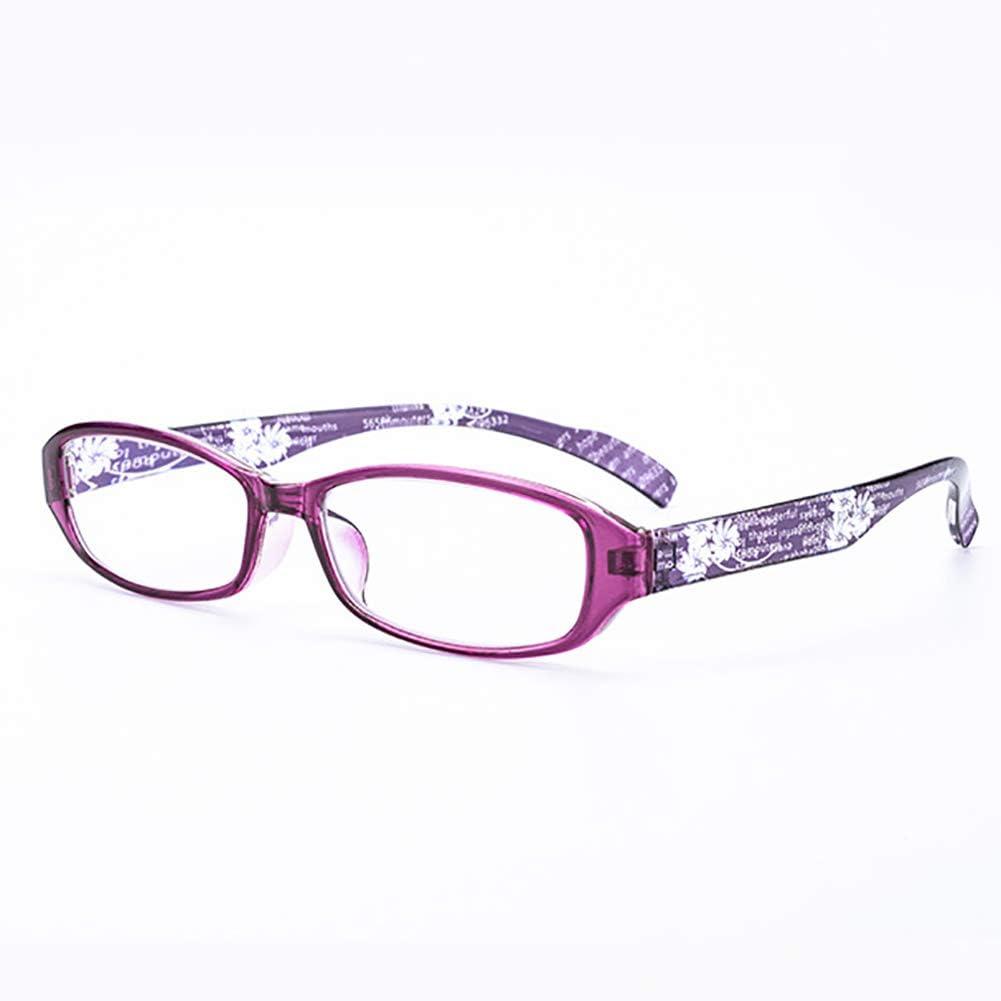 OYNN Moda acogedoras Gafas de Lectura, Cambio de Color al Aire Libre, protección contra la radiación, protección contra Rayos Ultravioleta, Gafas antifatiga