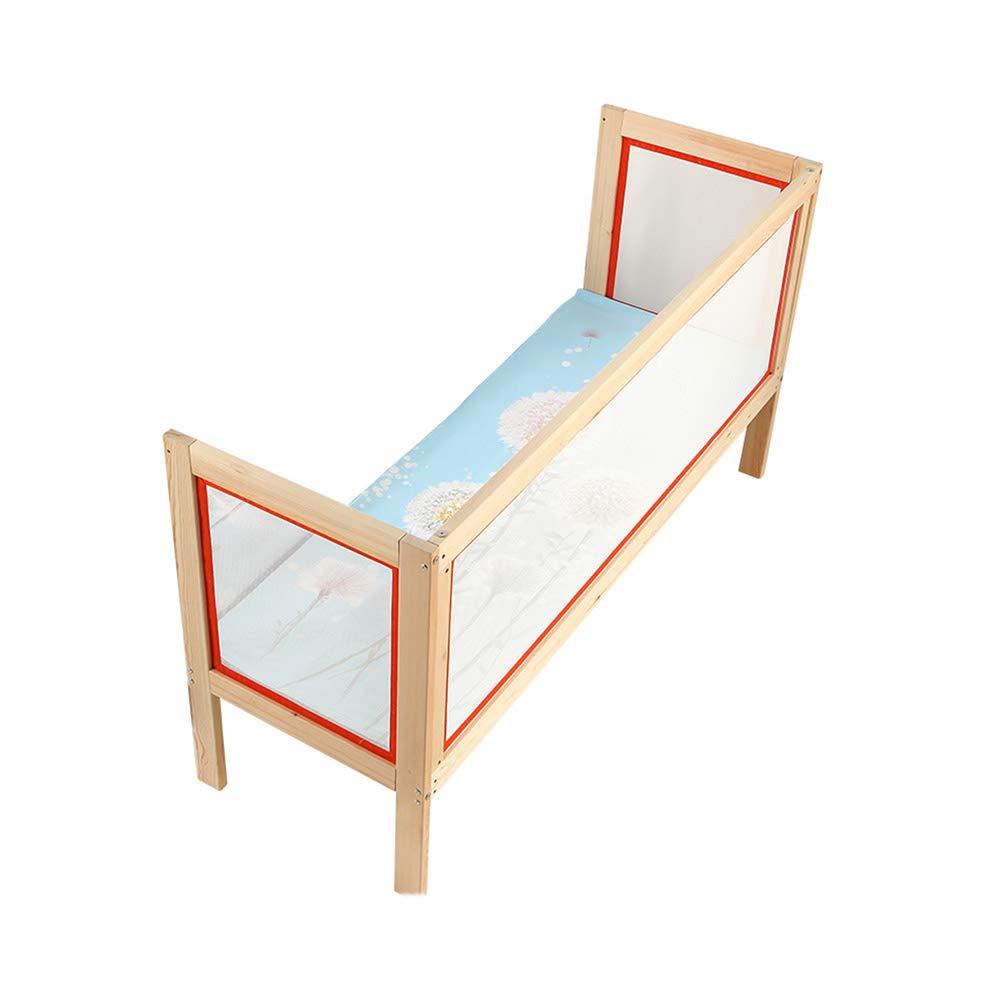 LHA ベッドガードフェンス ソリッドウッドのベッドのスプライス大きなベッドの子供用ベッド高さの拡大 - サイズオプション (サイズ さいず : 53*186*60cm) 53*186*60cm  B07L4B7373