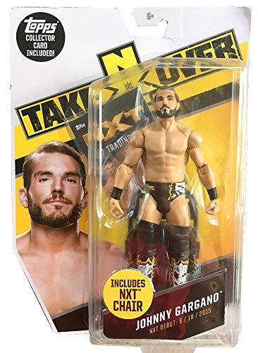 WWE Johnny Gargano NXT Takeover Figure With Chair