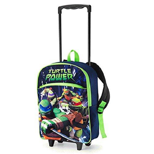 It The Bag Avon (Teenage Mutant Ninja Turtles Rolling Backpack Rolley Bag TMNT Officially Licensed Nickelodeon Viacom)