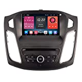 Autosion In Dash Android 6.0 Car DVD Player Sat Nav Radio Head Unit GPS Navigation Stereo for Ford Focus 2015 2016 2017 TPMS 4G OBD Support Bluetooth SD USB Radio OBD WIFI DVR 1080P