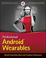 Professional Android Wearables Front Cover