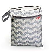 Skip Hop Waterproof Wet Dry Bag, Grab & Go, Chevron