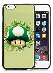 Beautiful Designed Case With Cute Cartoon Super Mario Black For iPhone 6 Plus 5.5 Inch TPU Phone Case