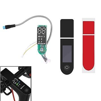 FreeLeben Tablero de Instrumentos Eléctrico Scooter, Xiaomi M365 Pro Reajustar Bluetooth Actualizar la Placa de Circuito con Cubierta de Pantalla ...