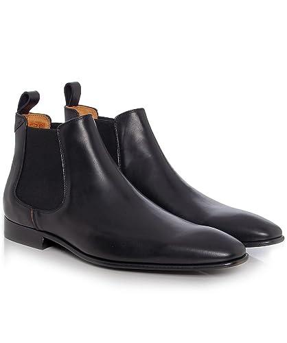 a95da61be8af91 PS by Paul Smith - Boots - Homme - Chelsea Boots Falconer Cuir Noir pour  Homme