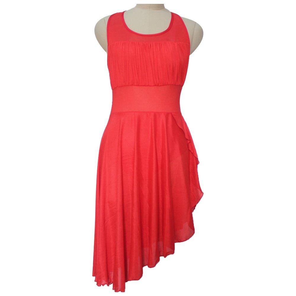 e5326b547 HDW DANCE Ladies Lyrical Contemporary Dance Dress NylonLycra Leotard with  Mesh Skirts