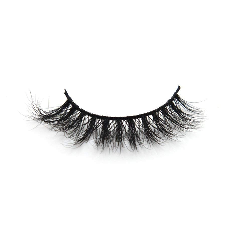 19dafe1e56d Amazon.com : Arison Lashes 3D Mink Fur Fake Eyelashes Women's Makeup False  Lashes Hand-made 3D Style 1 Pair Package (3D001) : Beauty