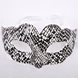Mask Costume Sexy Eye Mask Masquerade Ball Fancy Snakeskin Color J1994#