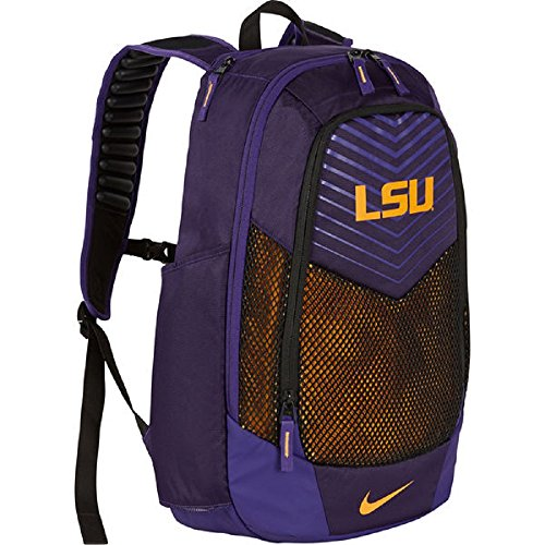 Nike LSU Tigers College Vapor Power Max Air Backpack BA5285-547 Purple/Gold by NIKE