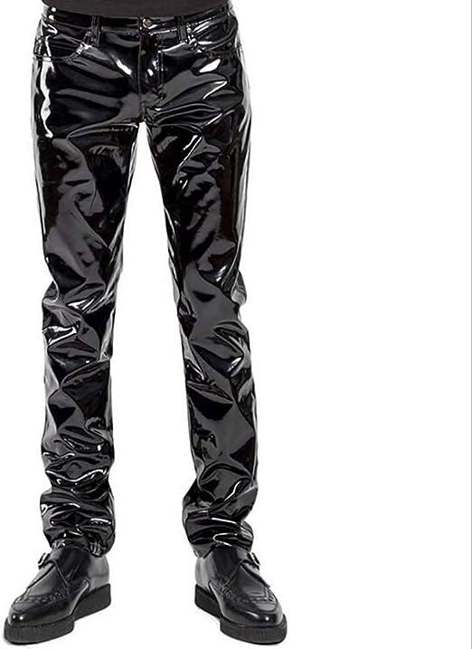 Women/'s Slim Fit Shorts Nightclub Party Wetlook High Waist Skinny Solid Pants