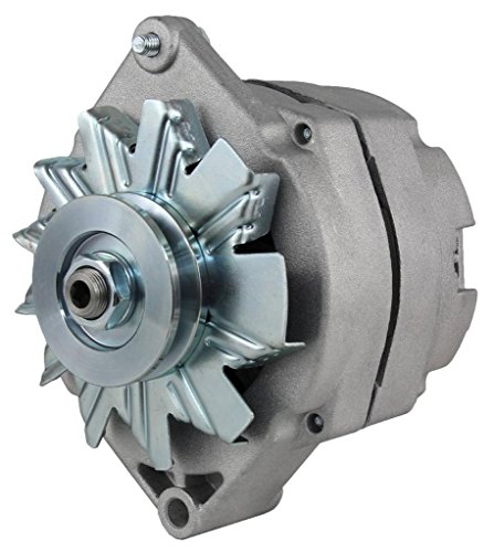 NEW DELCO TYPE SINGLE 1 ONE WIRE SELF ENERGIZING SE ALTERNATOR FITS 12 VOLT 63 AMP ()