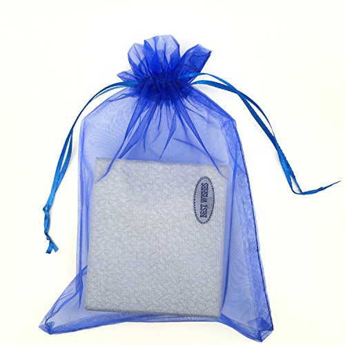 Blue Fabric Party Bags - 2