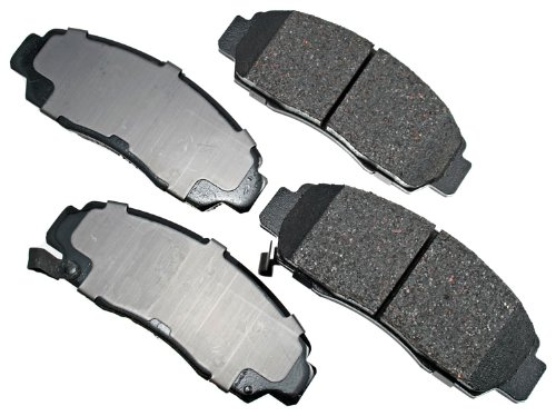 Akebono ACT787 ProACT Ultra-Premium Ceramic Brake Pad Set (Engineering #ACT564) by Akebono