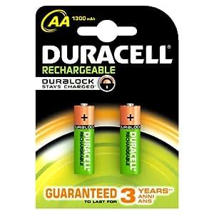 Duracell Stays Charged, AA - Batería/Pila recargable (AA ...