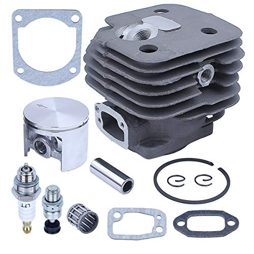 Adefol 268 Chainsaw Parts for Husqvarna 272 272XP 268XP 61 268K with 52mm Cylinder Piston Needle Bearing Kit