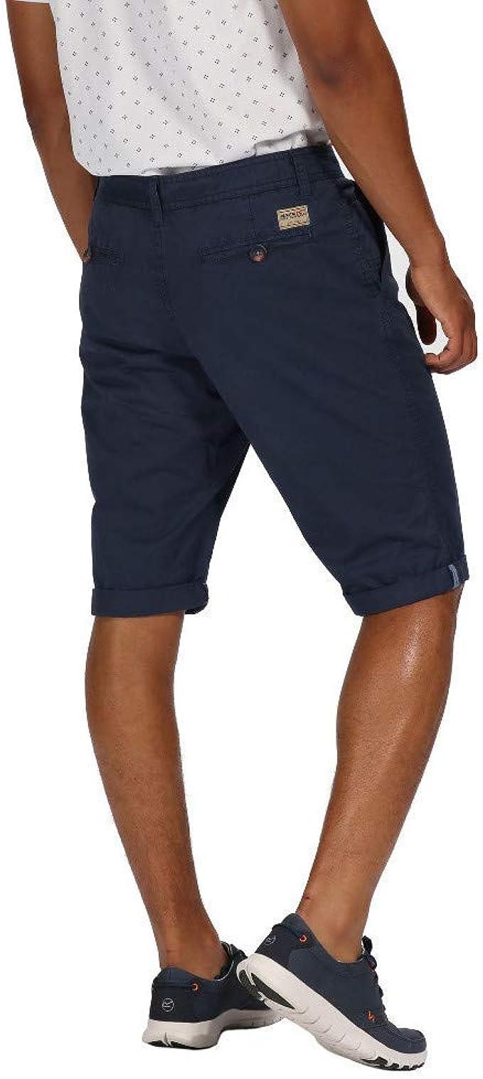 Regatta Pantaloncini Uomo Salvador II Coolweave Cotton Vintage Look