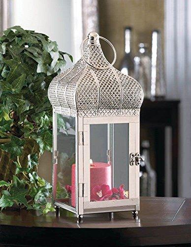 Silver Moroccan Dome Lantern