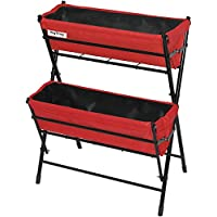 Vegtrug Poppy 2 Tier Raised Planter, Red