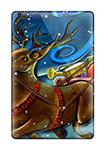 Lovers Gifts Snap On Hard Case Cover Santa Clause Creative Art Work Protector For Ipad Mini 3