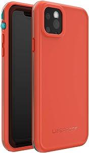 LifeProof FRE SERIES Waterproof Case for iPhone 11 Pro Max - FIRE SKY (BLUEBIRD/TANGERINE)
