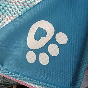Monbedos Tapis de Chien Tapis de Chat Tapis de Cage pour Chien Coussin Confortable pour Chien Animal Domestique Tapis Tapis de Refroidissement pour Tapis de Paille