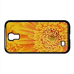Orange Yellow Gerber Daisies Macro Watercolor style Cover Samsung Galaxy S4 I9500 Case (Flowers Watercolor style Cover Samsung Galaxy S4 I9500 Case)
