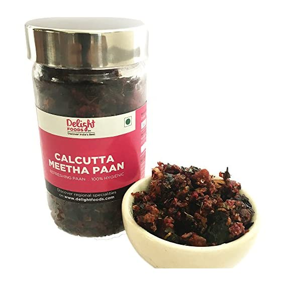 Delight Foods Calcutta Meetha Paan,100 gms