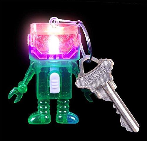2'' LIGHT-UP ROBOT KEYCHAIN, Case of 288