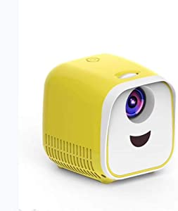 Mini Projector, Portable Video Projector, LED Micro Projector Home Party Meeting Theater Projector,002