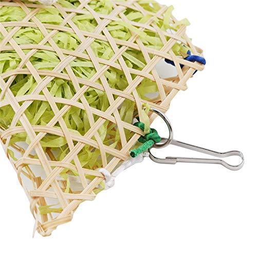 Amazon.com: Bird Toys - Grass Bird Parrot Swing Cage S Aging ...