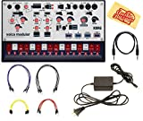 Korg Volca Modular Synthesizer Bundle with Power Supply and Austin Bazaar Polishing Cloth