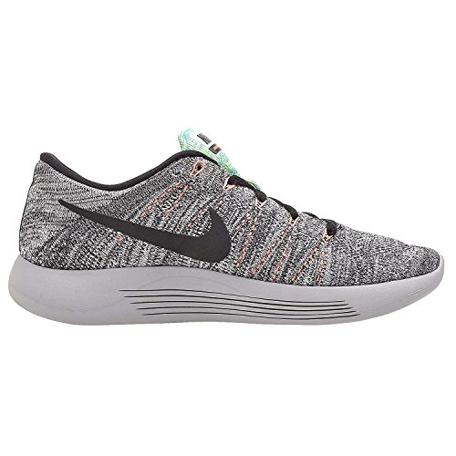 Gamma White Running Nike Shoes Low Blue Women's Black Flyknit Lunarepic Bright Mango awq14z