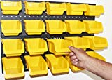 WallPeg Storage System with Panels, Pegboard