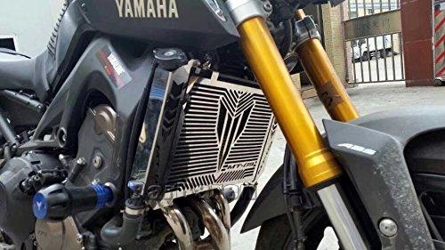 Motorrad K/ühlerschutz Wasserk/ühler Schutz Gill K/ühlerabdeckung F/ür Yamaha MT-09 MT09 Tracer FJ-09
