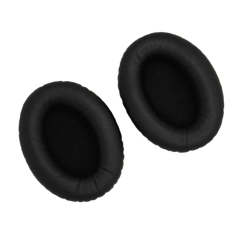 Bobury Copertura dell'orecchio 1 paio morbidi auricolari di spugna earshield Cuscini Protein Leather Cuffia per Bose QC2 QC15 AE2 AE2i