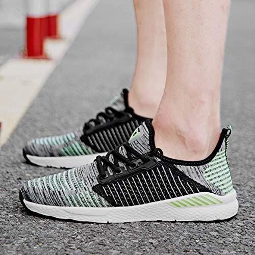 Lacets En Jogging Sport Saisons Pour À Les Confortables De Respirante Maille Toutes Chaussures Décontractée FS4Oqww