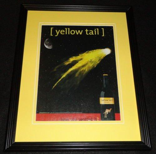 2005-yellow-tail-shiraz-framed-11x14-original-advertisement