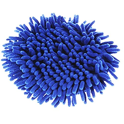 Meirun Car 360 Degree Spin Wet Mop Head,Microfiber Auto Cleaning Replacement Mop Head (Blue head only) Auto Head Cleaner