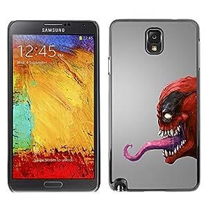 MEIMEIGagaDesign Phone Accessories: Hard Case Cover for Samsung Galaxy Note 3 - Red Venom MonsterMEIMEI